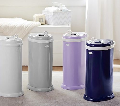 Ubbi daiper pail in various colors
