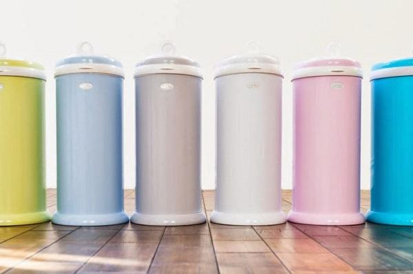 Number of color variations for a diaper pail